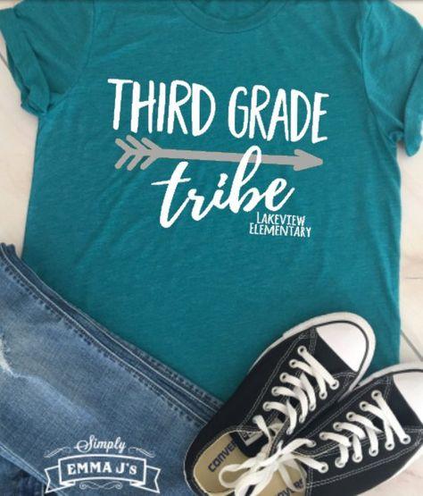 Third grade tribe team shirt Third Grade Third grade team