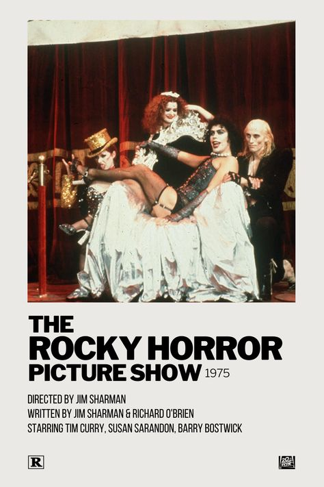 The Rocky Horror Picture Show Polaroid Movie Poster