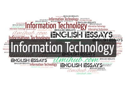 Essay On Information Technology With Quote Kip Note Funny Computer