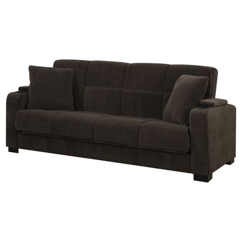 Miraculous Susan Storage Arm Convert A Couch Chocolate Brown Velvet Inzonedesignstudio Interior Chair Design Inzonedesignstudiocom