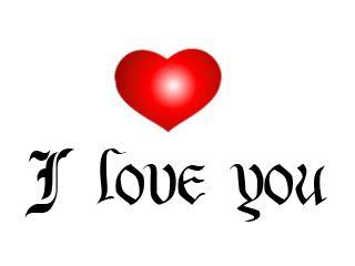 24 GIFS Animados Letras I Love You - 1000 Gifs