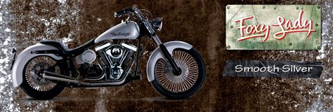 Headbanger Motorcycles Foxy Lady Smooth Silver