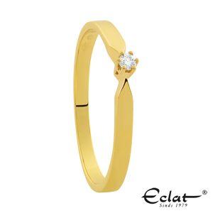 Eclat R16 0 03ct Gg Verlovingsring Trouwringen Juweliers