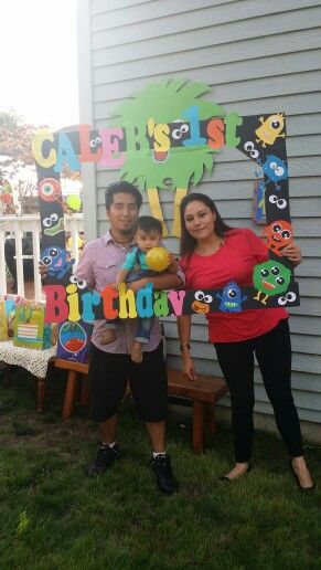Monster Birthday Party Jackson S First Birthday Party Idea