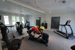 home gym lighting. home gym track lighting mirrors with crown big windows pinterest window and contemporary