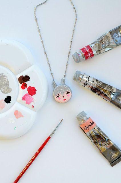 Linfa Creativa: Collana Volpe argento realizzata con un tappo di bottiglia ed una cannuccia