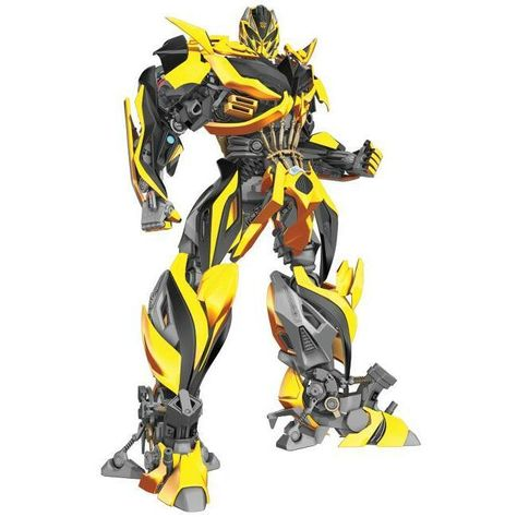 Transformers: Age of Extinction Bumblebee Giant Wall Decal