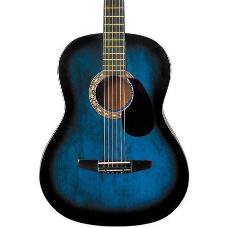 Rogue Starter Acoustic Guitar Blue Burst Walmart Com Fender Acoustic Guitar Acoustic Guitar Bass Guitar Tabs