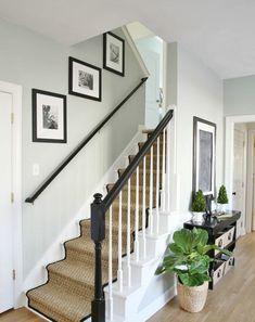 Escalier Jonc De Mer Habiller Idee Moquette Deco Mur Entree Idee Deco Escalier Moquette Escalier Tapis Escalier