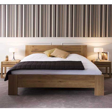 Oak Azur Bed King Ethnicraft Nv Lekker Home Deco Modèles De