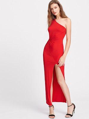 precio comprar bien muy genial zapatos para vestido rojo largo | Vestidos en 2019 ...