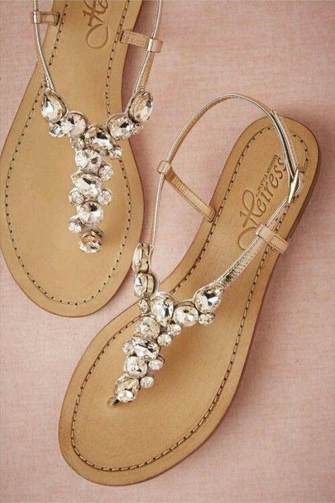 ab8a02c47b Inspirações sandálias para casamento praia