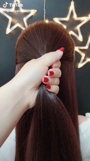 Tutorial Videos Diy Lovely Hairstyle Hairdo Braid Gorgeous Stunning Perfect Haircut Hair Color Long Hair Stylish Classy In 2020 Long Hair Styles Hair Styles Hairstyle