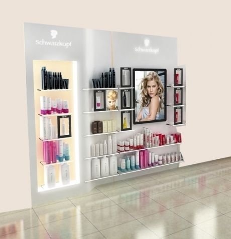 How To Display Salon Products Pauls Design Retail Beauty Decor