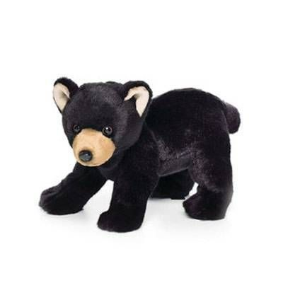 Black Bear Plush Stuffed Animal Sewing Stuffed Animals Plush