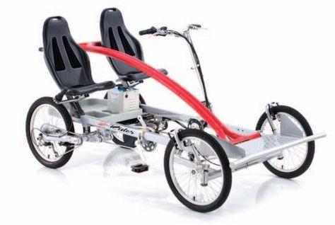 Quadribent™ Side-by-Side Recumbent Bikes  Better than