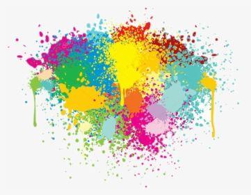 Colorful Splash Png Vector Paint Splashes Transparent Background Png Download Lukisan Cat Air Cat Air Lukisan