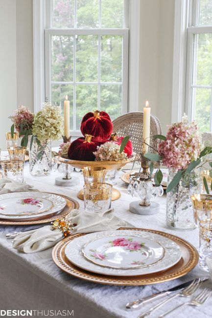 Creating A Simple Table Setting When You Have No Time Simple