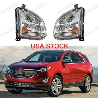 Ad Ebay Usa Stock Front Fog Lights Bumper Lamps Pair For