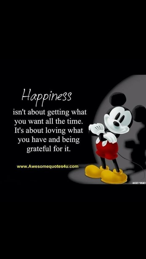 Words of Wisdom from Mickey Mouse ...♥♥...