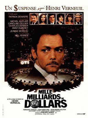 Mille Milliards De Dollars Dewaere Film Francais Michel Auclair
