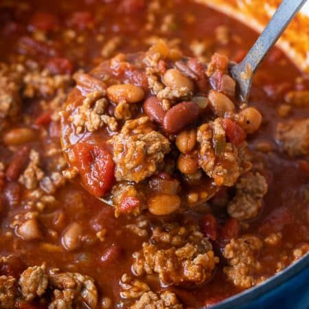 Ground Pork Chili Recipe Pork Sausage Recipes Pork Chili Pork Chili Recipe