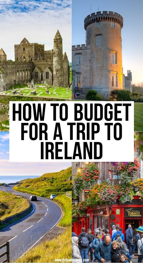 How Much Does A Trip To Ireland Cost? Breakdown By Budget! - Republic of Ireland in europe Oh The Places You'll Go, Cool Places To Visit, Ireland Travel Guide, Backpacking Ireland, Oregon, Ireland Vacation, Scotland Travel, British Isles, European Travel