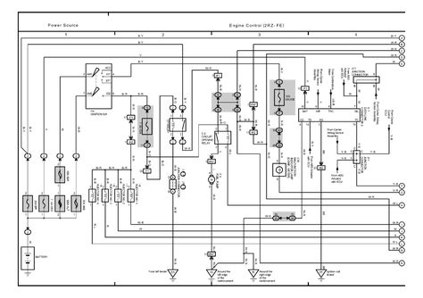 | repair guides | overall electrical wiring diagram (2003) | overall  electrical wiring diagram (2003) 1 | autozon… | toyota tacoma, repair  guide, 2002 toyota tacoma  pinterest