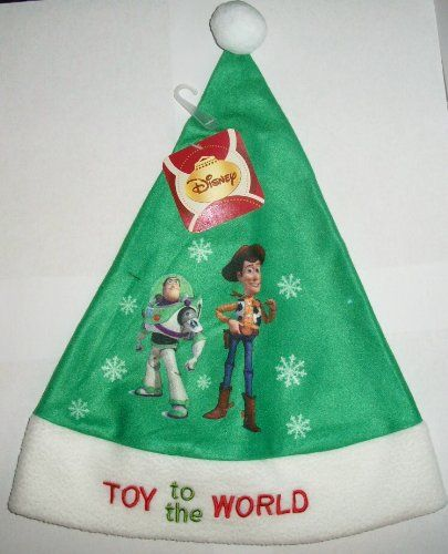 Toy Story Buzz Lightyear And Woody Christmas Santa Hat Di Toy Story Buzz Toy Story Buzz Lightyear Holiday Hats