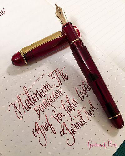 Review Platinum 3776 Century Bourgogne Fountain Pen Soft Fine