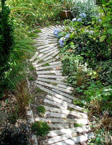Faire Une Allee De Jardin Fixe Ou Mobile En Palettes Bois Garden