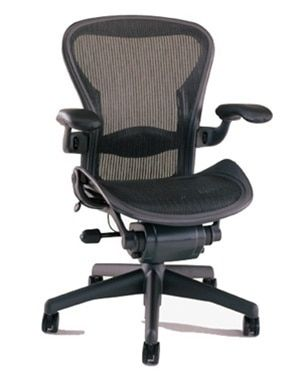 Herman Miller Aeron Chair Size B Semi Loaded Most Comfortable Office Chair Home Office Chairs Herman Miller Aeron Chair