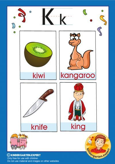 Letter K Pictures