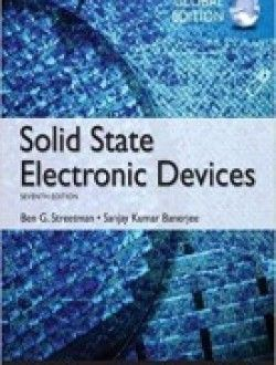 Solid State Electronic Devices: Global Edition + Solution PDF