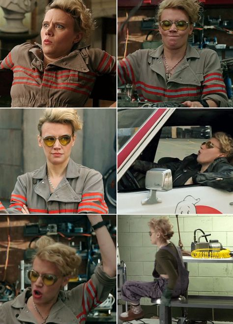 """Yes, this is the closest character to my actual self that I've ever played""- Kate McKinnon   #ghostbusters"