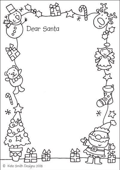 Santa Letters 10 Free Printable Letters To Santa Christmas Lettering Christmas Freebie Santa Letter Template