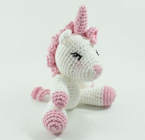 Kadife İple Amigurumi Unicorn Yapımı (Görüntüler ile) | Kroşe ... | 459x474