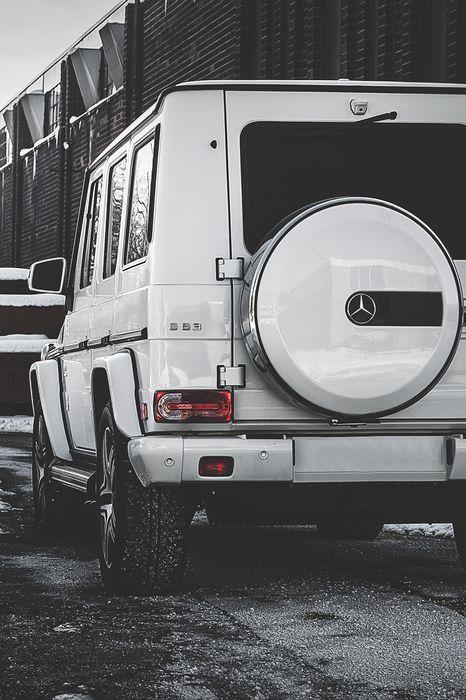 Mercedes Gelandewagen White Black Wallpaper With Images
