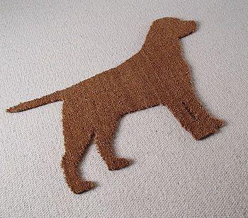 Labrador Dog Door Mat Dog Door Mat Dog Design Labrador Dog