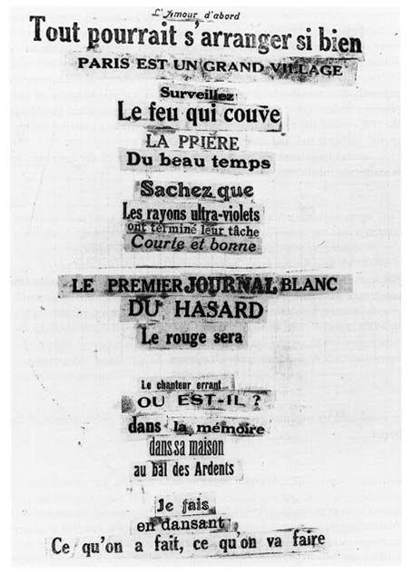 André Breton Poeme 1924 Elsa Adamowicz Poème