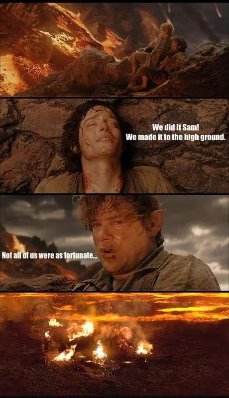 Pin By Elizabeth Schultz On Middle Earth Star Wars Memes Star Wars Humor Prequel Memes