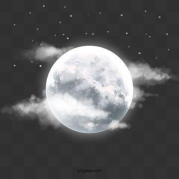 Hermosa Noche Luna Brillante Noche Luminiscencia Luna Png Y Psd Para Descargar Gratis Pngtree Black Background Images Star Background Best Background Images