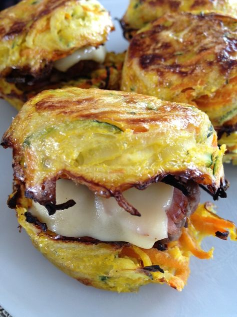 Hamburger de légumes boeuf / bacon