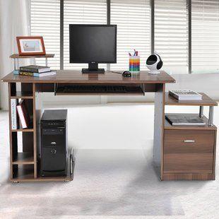 Strange Computer Desk Home Computer Desks Wayfair Co Uk Office Complete Home Design Collection Papxelindsey Bellcom