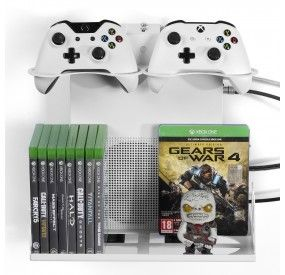 Horizontal Wall Mount Xbox And Ps4 Gameside Bundle Big Daddy Borangame Video Game Console Storage Xbox Console Storage