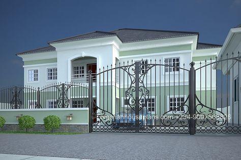 Nigerian House Plans 5 Bedroom Duplex 3 House Plan Gallery Beautiful House Plans Building House Plans Designs