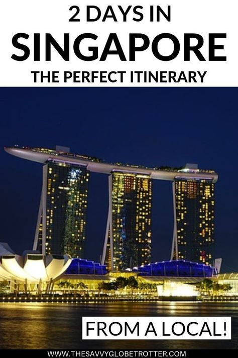 The perfect 2 days in Singapore itinerary according to a LOCAL!  Includes the best things to do in Singapore, where to eat and where to stay. #Singapore #Singaporetravel #singaporethingstodoin #ThingsToDoInSingapore #visitsingapore | Singapore Travel Guide Trips | Singapore Travel Places Bucket Lists | Singapore Travel Tips | Singapore Street Food | Singapore Attractions Places to Visit | Singapore Travel Hotels Marina Bay Sands | Singapore Travel Destinations Vacations | Singapore Travel Posts