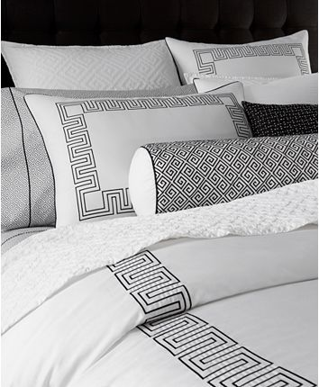 Hotel Collection Greek Key Duvet Covers Created For Macy S Reviews Bedding Collections Duvet Cover Master Bedroom Hotel Collection Bedding Luxury Bedding