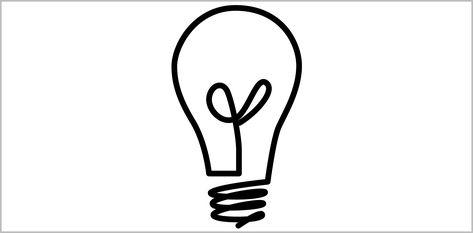 67 Reference Of Led Light Bulb Black And White Clipart In 2020 Light Bulb Logo Light Bulb Icon Light Bulb Illustration