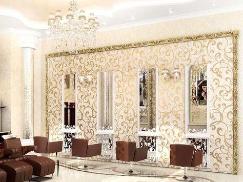 interior, design, ideas, chairs, beauty salon, mirrors   Salão de ...